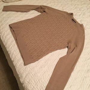 Brooks Brothers Crew Neck Wool Sweater